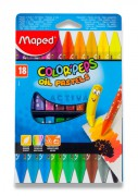 pastely Maped Color'Peps Oil Pastels - 18 barev