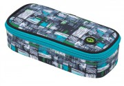 STUDENTSKÝ PENÁL Bagmaster - etue - case THEORY 8 C  Black/Blue/Grey