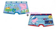 SUN CITY Boxerky PEPPA PIG 2pack modré