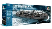 Model Kit loď 5620 - SCHNELLBOOT S-38 with Bofors (Italeri 1:35) Doprava zdarma