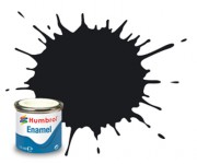 AA0237  - 21 Black Gloss - 14ml Enamel Paint