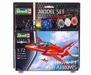 64921 - ModelSet Bae Hawk T.1 Red Arrows (Revell 1:72)