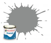 AA1393 - 126 US Medium Grey Satin - 14ml Enamel Paint