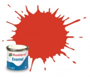 AA1897 - 174 Signal Red Satin - 14ml Enamel Paint