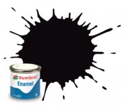 AA6392 - 201 Black Metallic - 14ml Enamel Paint