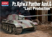 Pz.Kpfw.V Panther Ausf.G Last Product. (Academy 1:35)
