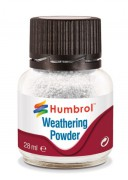 Bílá - Weathering Powder (Humbrol 28ml)