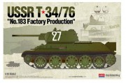 T-34/76 No.183 Factory Production (Academy 1:35)