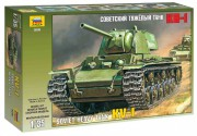 Model Kit tank 3539 - KV-1 SOVIET HEAVY TANK (Zvezda 1:35)