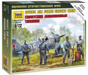 Soviet airforce ground crew (Zvezda 1:72)