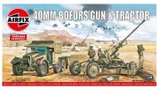 Classic Kit VINTAGE military A02314V - Bofors 40mm Gun & Tractor (Airfix 1:76)