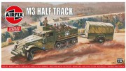 Classic Kit VINTAGE military A02318V - M3 Half Track & 1 Ton Trailer (Airfix 1:76)