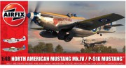 Classic Kit letadlo A05137 - North American Mustang Mk.IV (Airfix 1:48)