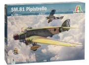 Model Kit letadlo 1388 - SM.81 PIPISTRELLO (Italeri 1:72)