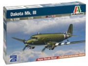 Model Kit letadlo 1338 - DAKOTA Mk.III (Italeri 1:72)