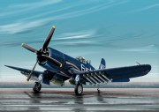 Model Kit letadlo 0062 - F4U-4B CORSAIR (Italeri 1:72)