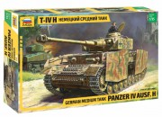 Model Kit tank 3620 - Panzer IV Ausf.H German Medium Tank (Zvezda 1:35)