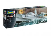 Plastic ModelKit loď 05162 - German Fast Attack Craft S-100 CLASS (Revell 1:72)