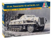 Model Kit military 6546 - 15 cm. PANZERWERFER 42 AUF SD.KFZ. 4/1 (Italeri 1:35)