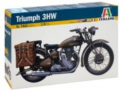 Model Kit military 7402 - TRIUMPH (Italeri 1:9)
