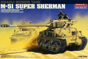 Model Kit tank 13254 - IDF M-51 SUPER SHERMAN (1:35)
