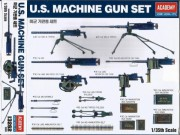 Model Kit military 13262 - US MACHINE GUN SET (1:35)