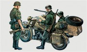Model Kit military 0315 - BMW R75 with Sidecar (Italeri 1:35)