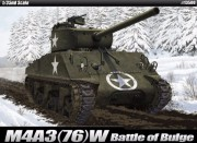 M4 A3 (76)W Battle of Bulge (Academy 1:35)