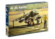 Model Kit letadlo 1410 - AV-8A HARRIER (Italeri 1:72)