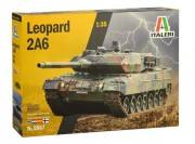 Model Kit tank 6567 - Leopard 2A6 (Italeri 1:35)