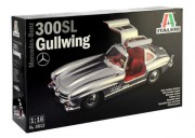 Model Kit auto 3612 - Mercedes-Benz 300 SL Gullwing (Italeri 1:16)