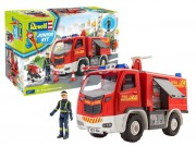Junior Kit auto 00819 - Firetruck with figure (Revell 1:20)
