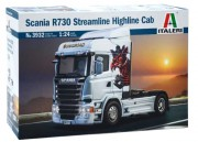 Model Kit truck 3932 - Scania R730 Streamline Highline Cab (Italeri 1:24)