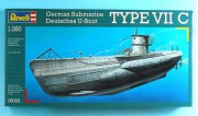Deutsches U-Boot TYPE VII C (Revell 1:350)