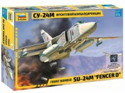 Model Kit letadlo 7267 - Front bomber Su-24M Fencer D (1:72)