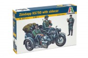 Model Kit military 0317 - ZÜNDAPP KS750 (Italeri 1:35)