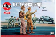 Classic Kit VINTAGE figurky A00748V - USAAF Personnel (Airfix 1:76)