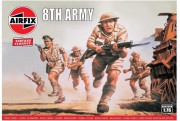Classic Kit VINTAGE figurky A00709V - 8th Army (Airfix 1:76)