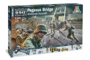 Model Kit diorama 6194 - Pegasus Bridge Airborne Assault (Italeri 1:72)
