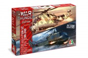 Model Kit vrtulníky War Thunder 35103 - UH-1C & MI-24D (Italeri 1:72)