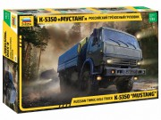 Model Kit military 3697 - Russian three axle truck K-5350 MUSTANG (1:35)