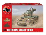 Classic Kit tank A1358 - M3 Stuart,  Honey (British Version) (Airfix 1:35)