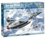 Model Kit letadlo 2790 - Bye-bye MIRAGE F1 (Italeri 1:48)