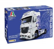 Model Kit truck 3935 - Mercedes-Benz ACTROS MP4 Giga Space (Italeri 1:24)