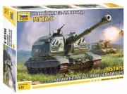 Model Kit military 5045 - MSTA-S Self Propelled Howitzer (Zvezda 1:72)