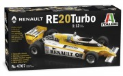 Model Kit auto 4707 - RENAULT RE 20 Turbo (Italeri 1:12) - Doprava zdarma