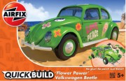 Quick Build auto J6031 - QUICKBUILD VW Beetle Flower-Power (Airfix)