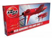 A05124 - Red Arrows Gnat (Airfix 1:48)