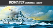 Bismarck Static model (Academy 1:350)