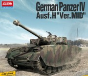 Panzer IV Ausf.H Mid version (Academy 1:72)